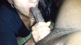 Teen Keeps Gagging and Choking While Learning To Deepthroat - KittenDaddy