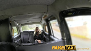 FakeTaxi Pornstar makes debut in London taxi michelle-thorne huge-tits faketaxi rough dogging milf amateur british blowjob gagging pornstar deepthroat spycam car pov reality camera fake-tits