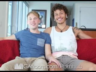 GayRoom - Jay Fine Goes Deep in Parker Michaels
