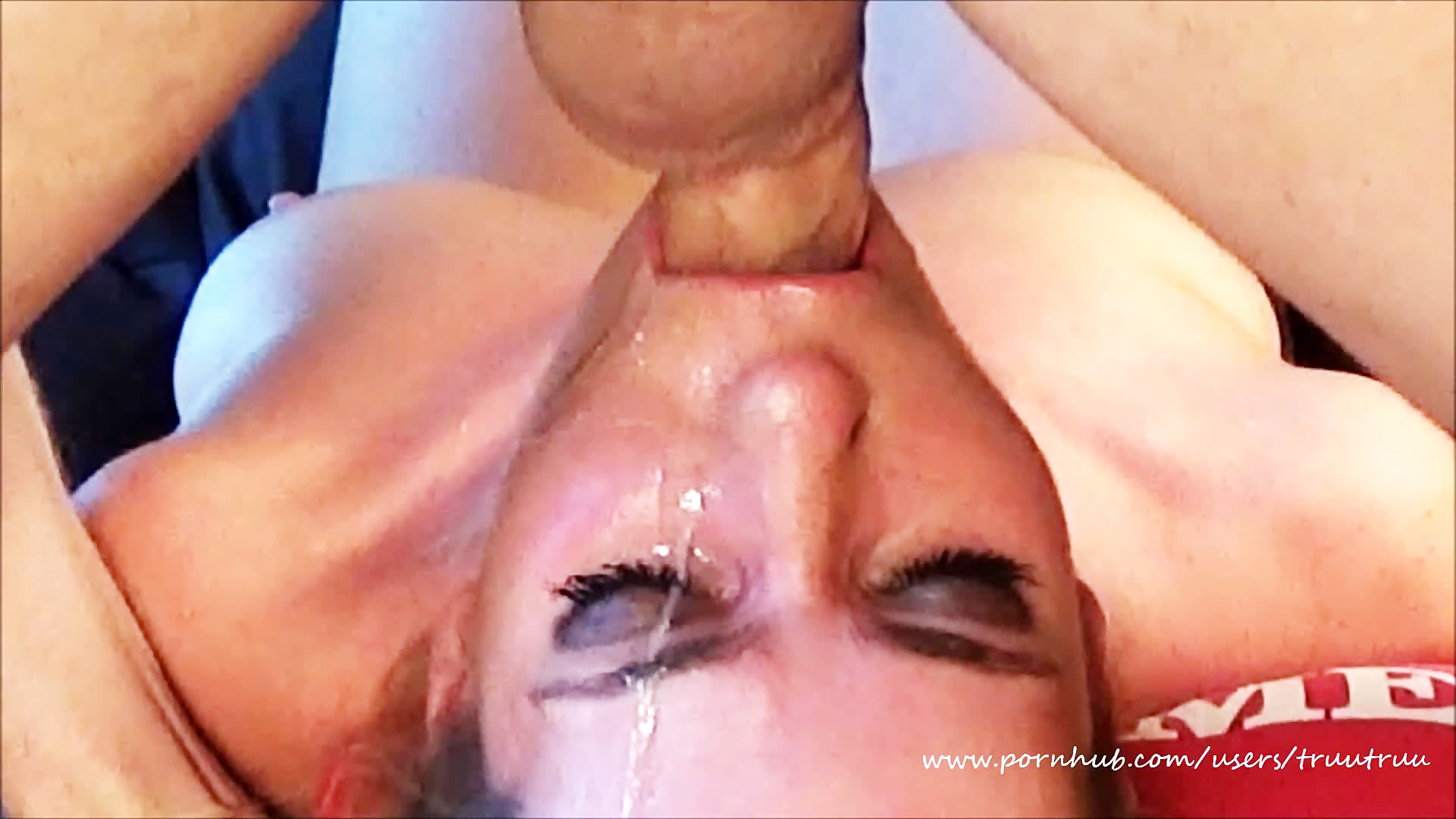 Cumshot sloppy deepthroat the same