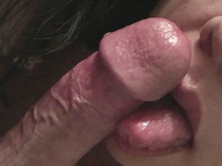 This bitch Lick and suck huge hard cocks good