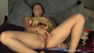 Sexy Bridgette Masturbating