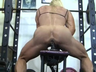 Lacey gets corrected in the gym