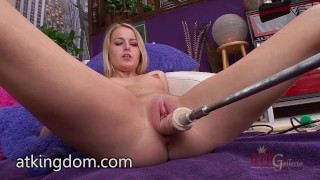 Preview 4 of Scarlett Sage trying the fuck machine
