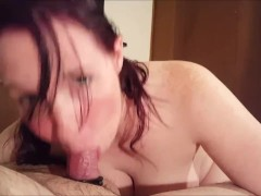 Sexy Blow job Part 2 Sucking his balls dry!!!!