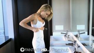 FantasyHD - Petite Dakota Skye gets her wet pussy fucked