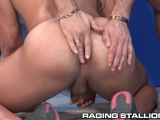 RagingStallion Latino Bubble Butt Gets Pounded