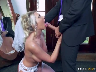 Lexi Lowe gets one last cock before the wedding - Brazzers