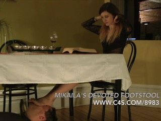 Mikaila's Devoted Footstool - www.clips4sale.com/8983/15548202
