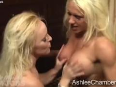 Ashlee Chambers and Alexis Golden Bukkake