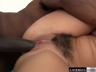 Teen Karlee Grey first black cock interracial hardcore fuck