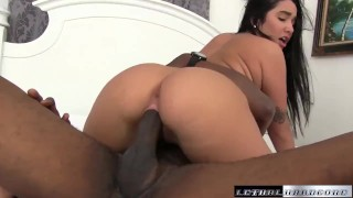 Teen Karlee Grey first black cock interracial hardcore fuck