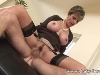 lunch pornstar cum in gezicht