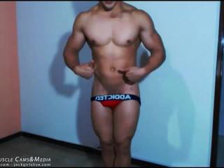 Hot Young Muscle Jock Jeremy Santos