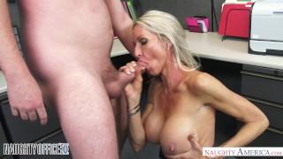 Milf emma starr seduces her coworker naughty office naughty america