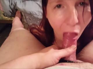 Quick Cum in my Mouth 2