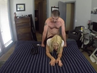 Naughty Schoolgirl Getting Fucked Hard
