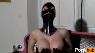 Latex Lucy the British Dominatrix 1 Best Of - Scene 5  big ass big tits british dominatrix boots femdom masturbate fetish milf kink gloves mask latex fingering corset big boobs