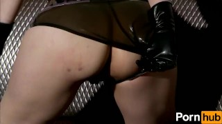 Latex Lucy the British Dominatrix 1 Best Of - Scene 5  big ass british dominatrix big-tits boots femdom masturbate big-boobs fetish milf kink gloves mask latex fingering corset