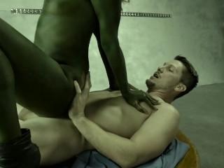 Gamora Fucks Star-Lord Hard Aboard the Milano - Gnardians of the Galaxy SC1