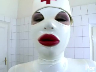 Latex Lucy the British Dominatrix 1 Best Of - Scene 4