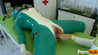 Latex Lucy the British Dominatrix 1 Best Of - Scene 4  big ass big tits high heels nurse femdom fetish kink lesbian clinic feet latex uniform pussy licking body suit girl on girl shaved pussy