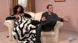 Misty Stone Takes Good Care of her Roomie and Takes his Jizz