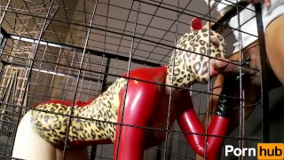 Latex Lucy the British Dominatrix 2 - Scene 4  bbc riding booty interracial pornhub mmf heels huge cock latex shaved doggystyle rough sex fake tits huge tits