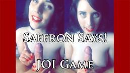 JOI Game! Saffron Says! Sexy S