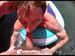 MenPOV - Guys with Cams Fuck Sean Blue & Mike Gaite