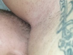 Pussy in my face close up chick pov