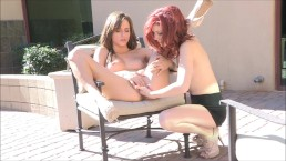 Malena Morgan & Elle Alexandra - FTVGirls - Public Display 3/7