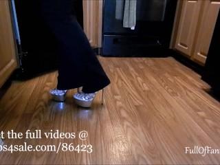Walking in Heels Fetish teaser compilation