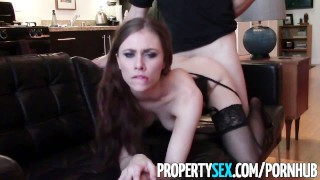 XXX porn - estel-two: PropertySex - Cherry picking real estate agent takes client's virginity