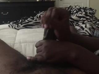 Make him cum with my hands
