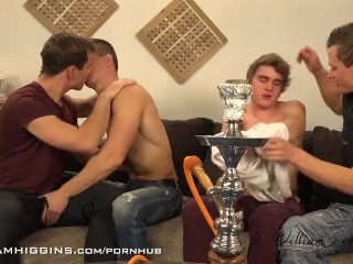 A chill-out turns into a Fuck-Party @ WilliamHiggins