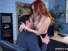 Brazzers – Dani Jensen gets pounded at work