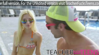 Teacher seduces student cock and young girlfriends  very-young-teen dick-riding shaved-pussy pussy-licking masturbating fourway tiny-teen natural-boobs 4some cowgirl group-sex small-tits teacherfucksteens 4way