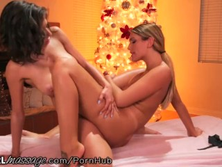 AllGirlMassage August Ames and Darcie Dolce! image