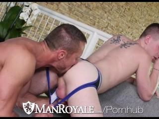 ManRoyale - Kyler Ash Won't Graduate Unless He Fucks Myles Landon