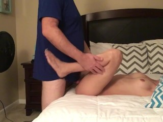 Hot GF taking the dick