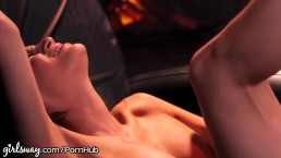 Katie Morgan and Danica Dillon in erotic sex