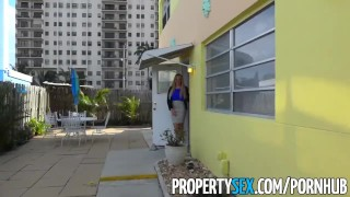 PropertySex - Vacation rental gone wrong turns into sex with busty agent hardcore hottie blowjob blonde cumshot big-boobs cowgirl big-dick real-estate-agent propertysex missionary dsl point-of-view busty doggystyle facial