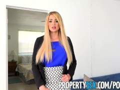 PropertySex – Vacation rental gone wrong turns into sex with busty agent
