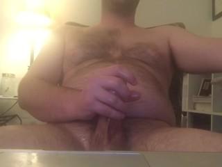 Oiled masterbation