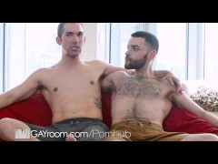 GayRoom - Hairy Fuckers Hugo Diaz & Blayne Wilson