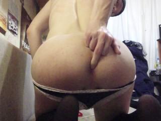 Strip and FIRST ANAL PLAY!! Cummed so hard!:D