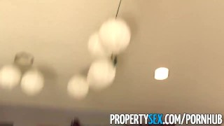 PropertySex - Flirty real estate agent cancels open house to fuck client  point of view real estate agent high heels babe funny amateur blowjob cumshot pov propertysex big dick hardcore brunette cowgirl reality doggystyle