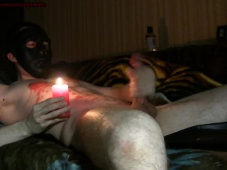 Jack off and hot candle (C1)