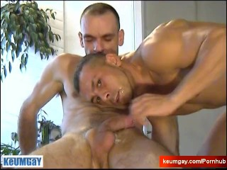Full video: A innocent vendor gets serviced his big cock by a guy!